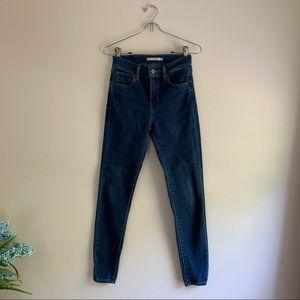 Levi's • 720 High Rise Super Skinny Jeans